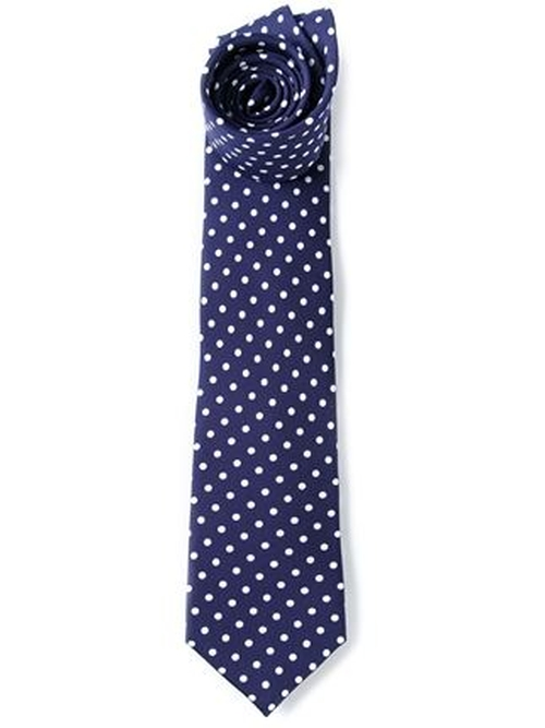 Polka Dot Print Tie by Fefè in Mean Girls