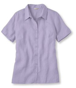 Premium Washable Linen Top by L. L. Bean in The Flash
