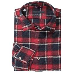 Brushed Cotton Multicolor Plaid Shirt by Mason's in Chronicle