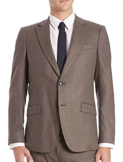 Slim-Fit Malcolm Wool Jacket by Theory in How To Get Away With Murder