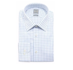 Check-Windowpane Woven Dress Shirt by Ike Behar in Designated Survivor
