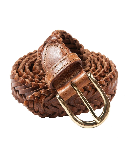 Braided Leather Belt by Bills Khakis in Masterminds
