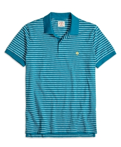 Stripe Polo Shirt by Brooks Brothers in Scream Queens