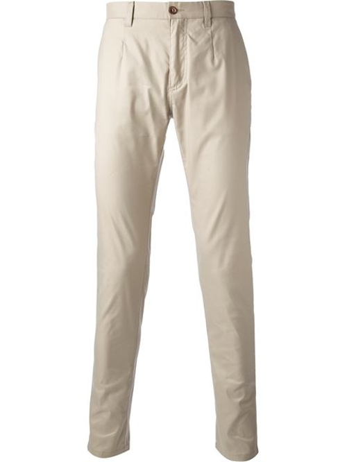 Tapered Slim Fit Chino Pants by Dolce & Gabbana in Love & Mercy