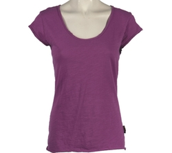 Cap Sleeve Tee Shirt by Ojai Clothing in Arrow