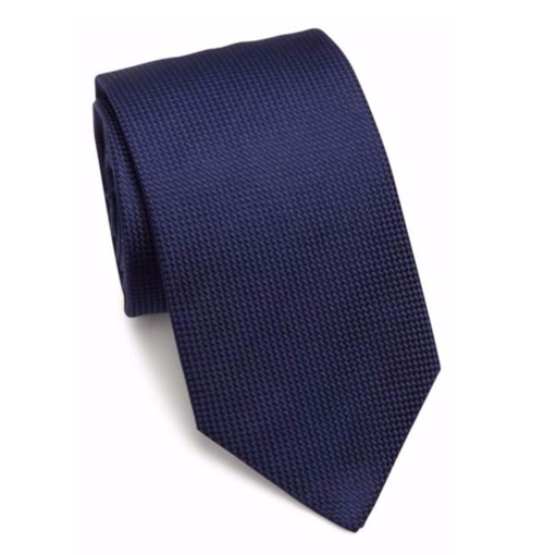 Textured Silk Tie by Eton of Sweden in Suits