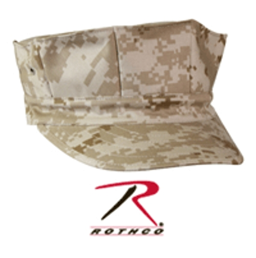 Marines Desert Digital Cap by Rothco in Max