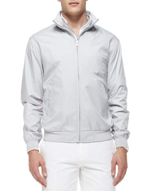 Austin Zip-Front Jacket by Peter Millar in Fight Club