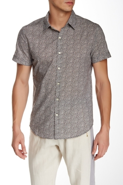 Elation Short Sleeve Slim Fit Shirt by Parke & Ronen in Pretty Little Liars