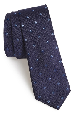 Woven Silk Tie by John Varvatos Star USA in Silver Linings Playbook