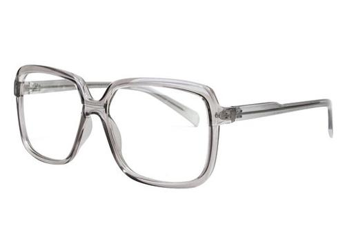 Big Rectangular Shape Frame Glasses Unique Slim Eyewear by Ililily in Prisoners