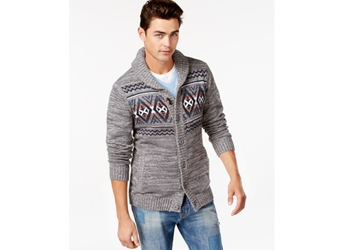 Aztec Cardigan by Retrofit in The Mindy Project - Season 4 Episode 8