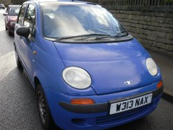 Matiz SE 800 Car by Daewoo in The Secret Life of Walter Mitty