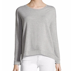 Soft-Touch French Terry Sweatshirt by Majestic Paris for Neiman Marcus in The Fate of the Furious