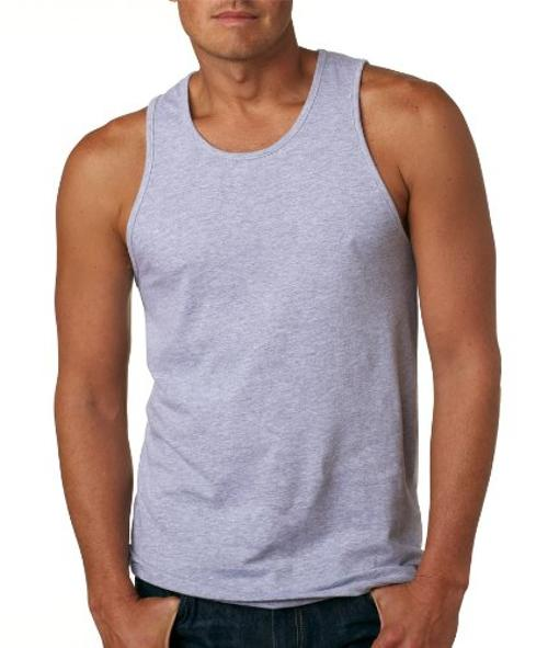 Men's Comfort SuperSoft Jersey Tank Top by Next Level in Pain & Gain
