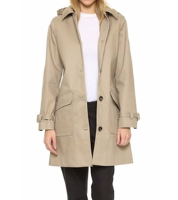 Mac Hooded Morgate Coat by A.P.C. in Fifty Shades Darker