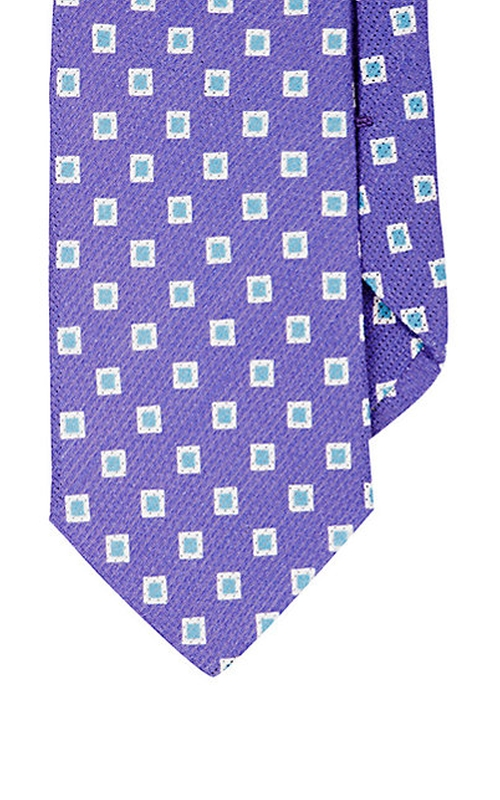 Square-Pattern Necktie by Barneys New York in Brooklyn Nine-Nine - Season 3 Episode 6