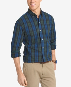 Non-Iron Plaid Shirt by Izod in Dirk Gently's Holistic Detective Agency