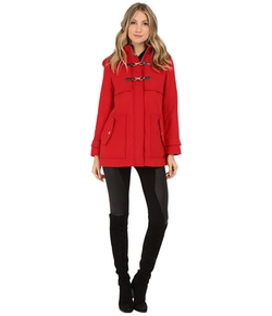 Zip Front Toggle Coat with Hood In Melton Touch by Jessica Simpson in Unbreakable Kimmy Schmidt