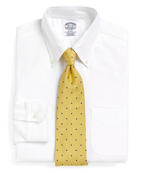 Regent Fit Button-Down Collar Dress Shirt by Brooks Brothers in The Best of Me