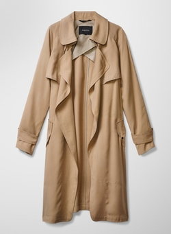 Lawson Trench Coat by Babaton in Quantico