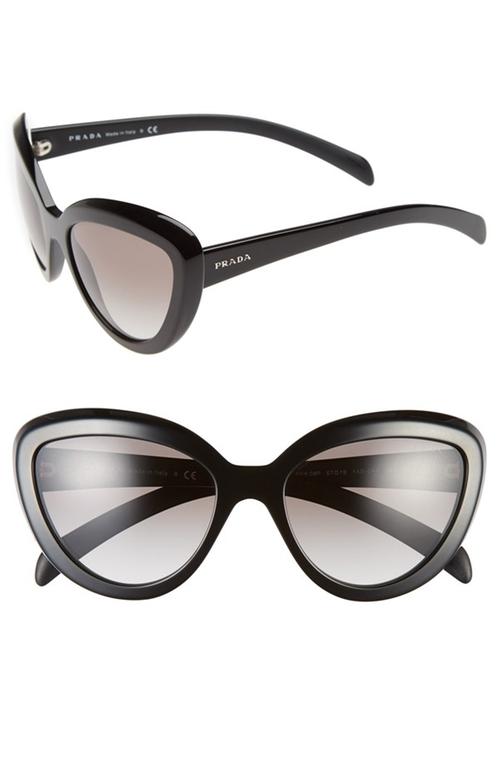 57mm Cat Eye Sunglasses by Prada in Pretty Little Liars - Season 6 Episode 5