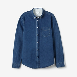 Isherwood Denim Shirt by Acne Studios in Vacation