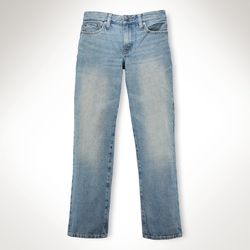 Slim-Fit Davit-Wash Jeans by Ralph Lauren in Boyhood