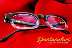 Rusty B Glasses by Spectaculars in The Flash