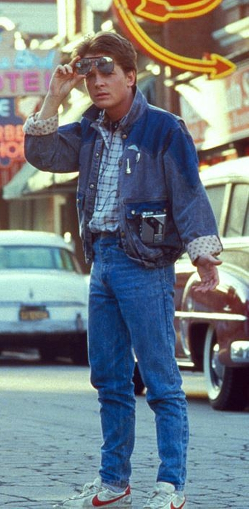 Blue Jeans by Guess in Back To The Future Part II