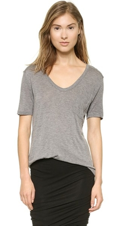 Classic T Shirt With Pocket by T By Alexander Wang in Sicario
