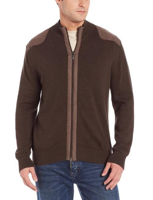 Men's Full Two-Way Zip Cardigan by Alex Cannon in If I Stay