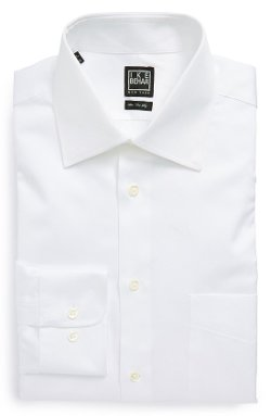 Regular Fit Dress Shirt by Ike Behar in That Awkward Moment