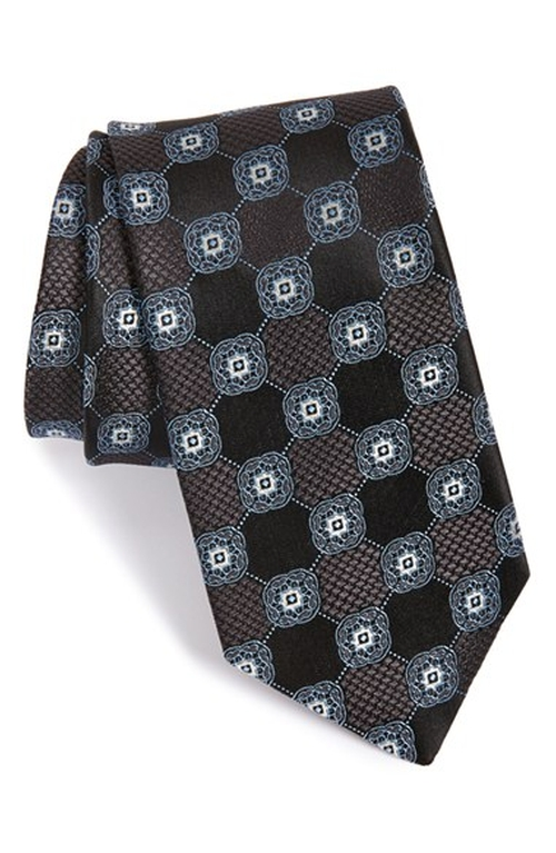 'Wolfe Medallion' Silk Tie by John W. Nordstrom in The Blacklist - Season 3 Episode 13
