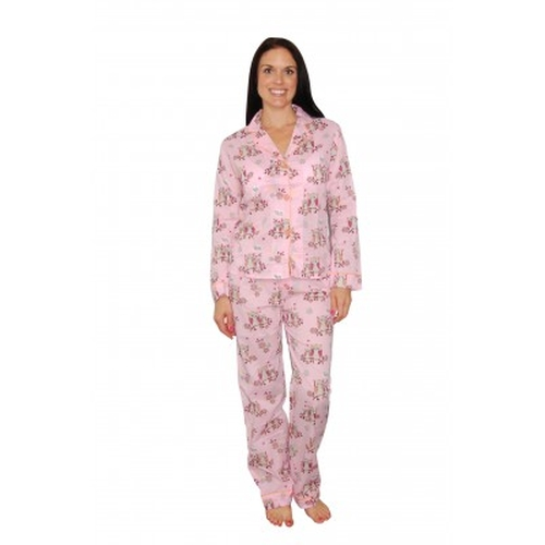 Women's Sweet Sets Owls Pink Cotton Pajamas by PJ Salvage in Unbreakable Kimmy Schmidt - Season 2 Episode 9