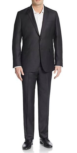 Slim-Fit Wool & Silk Two-Button Suit by Saks Fifth Avenue in Crazy, Stupid, Love.