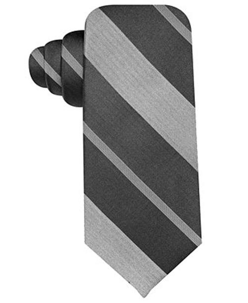 Ombré Striped Silk Tie by Van Heusen in Max