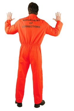 Men's Bad Boy Department Of Corrections Jumpsuit by Charades in Horrible Bosses 2