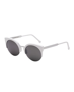 Metric Cat-Eye Sunglasses by Super By Retrosuperfuture in Scream Queens