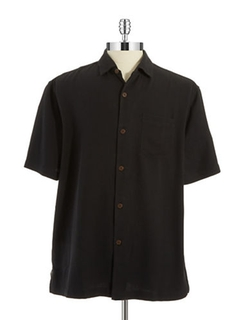 Isla Diamond Silk Sportshirt by Tommy Bahama in The Flash