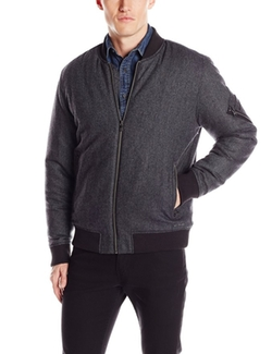 Wool Bomber Jacket by Calvin Klein Jeans in Modern Family