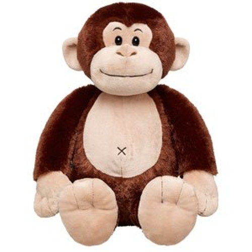 Plush Brown Monkey Toy by Build A Bear in Southpaw