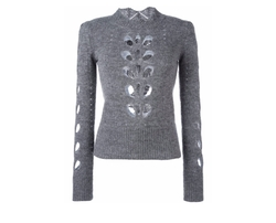 Illia Cut Out Jumper Sweater by Isabel Marant in Power