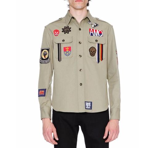 Military Shirt-Jacket by Alexander McQueen in Ballers - Season 2 Episode 3
