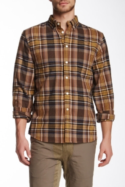 Flannel Plaid Shirt by Creep By Hiroshi Awai in Cut Bank