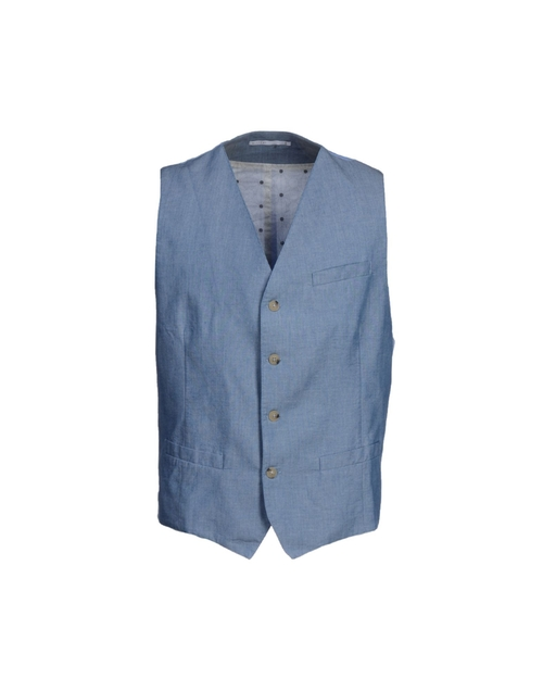 Button Down Vest by Allievi in Bridge of Spies