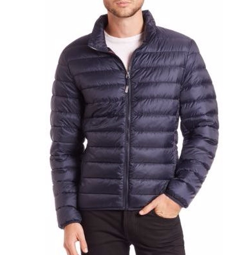 Convertible Puffer Jacket by Tumi in Power Rangers