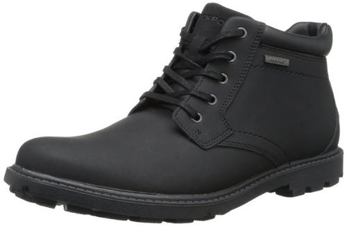 Men's Rugged Bucks Waterproof Boot by Rockport in Addicted