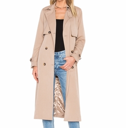 Trench Coat by Ganni in Pretty Little Liars
