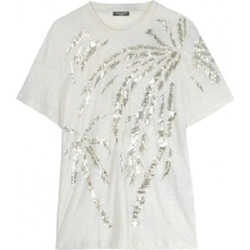 Glitter Palms T-Shirt by Balmain in Sex and the City 2